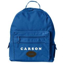 Carson Loves Football