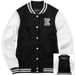 Ladies Sport-Tek Fleece Letterman Varsity Jacket