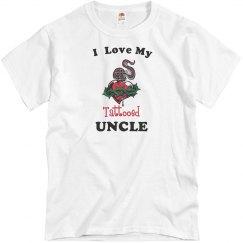 Love tattooed uncle