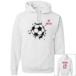 Girl's Soccer Hoodie