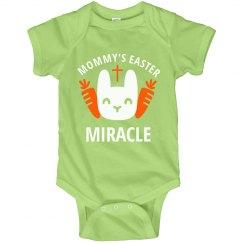 Easter Miracle Cute Baby Onesie