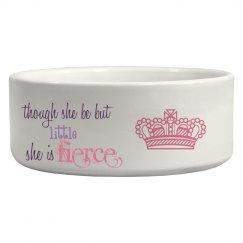 Princess pet bowl