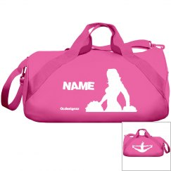 Red Cheerleader Duffle Bag