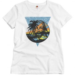 Beach Jesus Women's Tee