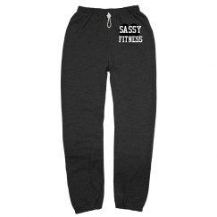Sassy Fitness Sweats Gray