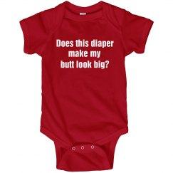Funny Diaper Onesie
