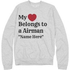 Heart belongs to a Airman