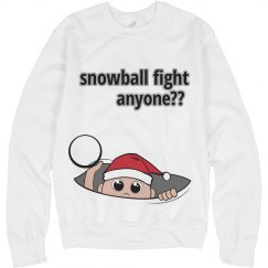 snowball fight?
