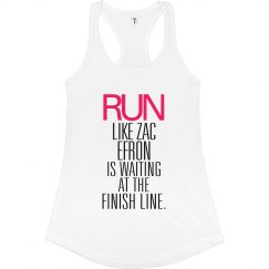 Run Zac Efron Finish Line