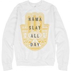 Nama Slay All Day Namaste Lemon