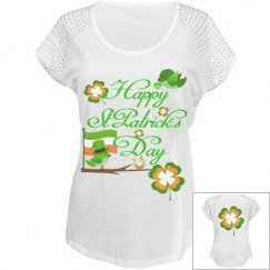 Happy St Patrick's Day, Fancy T- Shirt