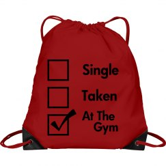 I Live At The Gym Bag