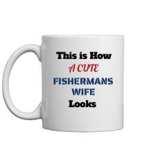 Cute fishermans wife