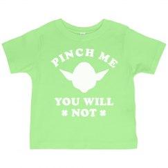 St Patricks Day Toddler Pinch Yoda