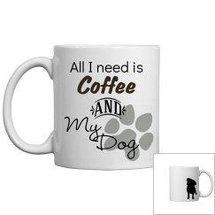 Coffee and My Dog Mug