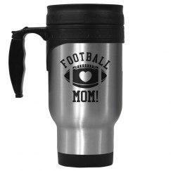 Simple Football Mom Mug