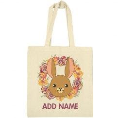 Cute Easter Bag For Easter Egg Hunt