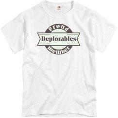 Proud Member of Deplorables