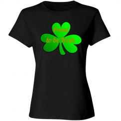 Bright Green Clover Irish Pride