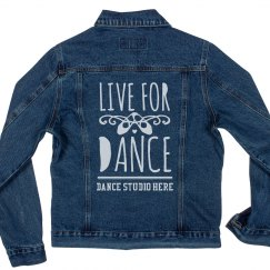 Custom Dance Studio Jean Jacket