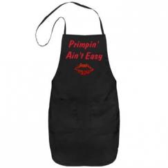 Glitter Primpin' Ain't Easy salon stylist apron