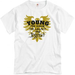 Young. The Legend