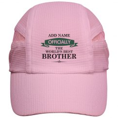 World's best brother cap