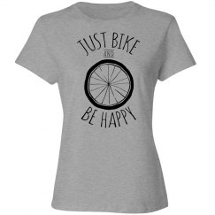 Just bike and be happy