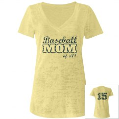 Baseball Mom With Back