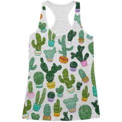 Stylish Cactus All Over Print