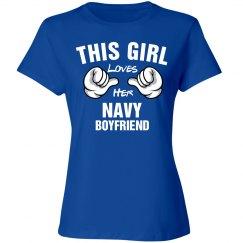 Girl loves her navy boyfriend