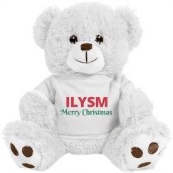 ILYSM Christmas Bear