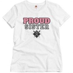 Proud sister