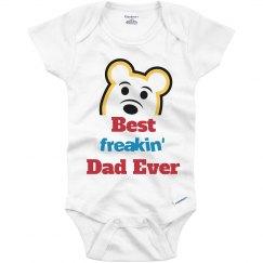 Best Freakin' Dad Ever Onesies