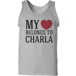 Heart belongs to charla