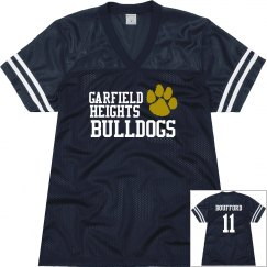 Bulldogs Football Jersey