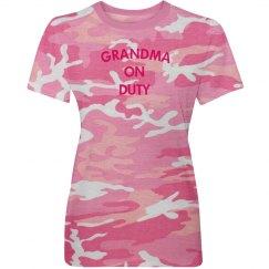 Grandma on duty