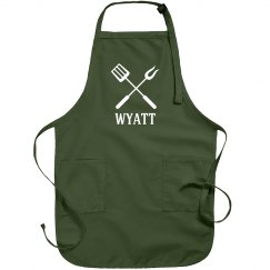 Wyatt personalized apron