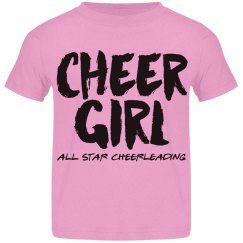 Toddler Cheer Girl Shirt