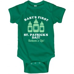 Funny Baby's First St Patricks