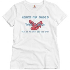 Shoes take a walk Tshirt