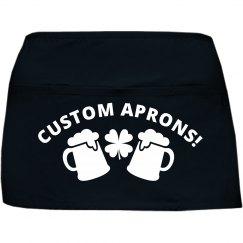 Custom St Patricks Day Apron