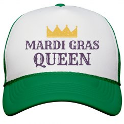 Mardi Gras Queen Hat