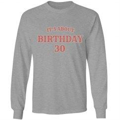 birthday #30