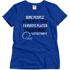 Favorite Player Football (Form Fitting)