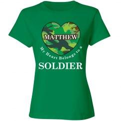 Heart belongs to Matthew