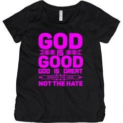 God Is Good Hot Pink