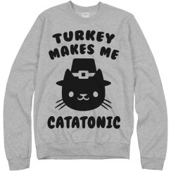 Thanksgiving Cat Shirt