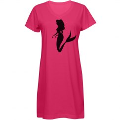Mermaid forever! Tee shirt Dress! night gown etc