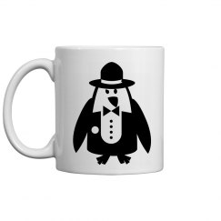 Mobster Pinquin Mug
